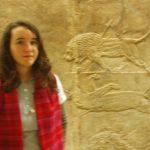 León vomitando sangre (British Museum)
